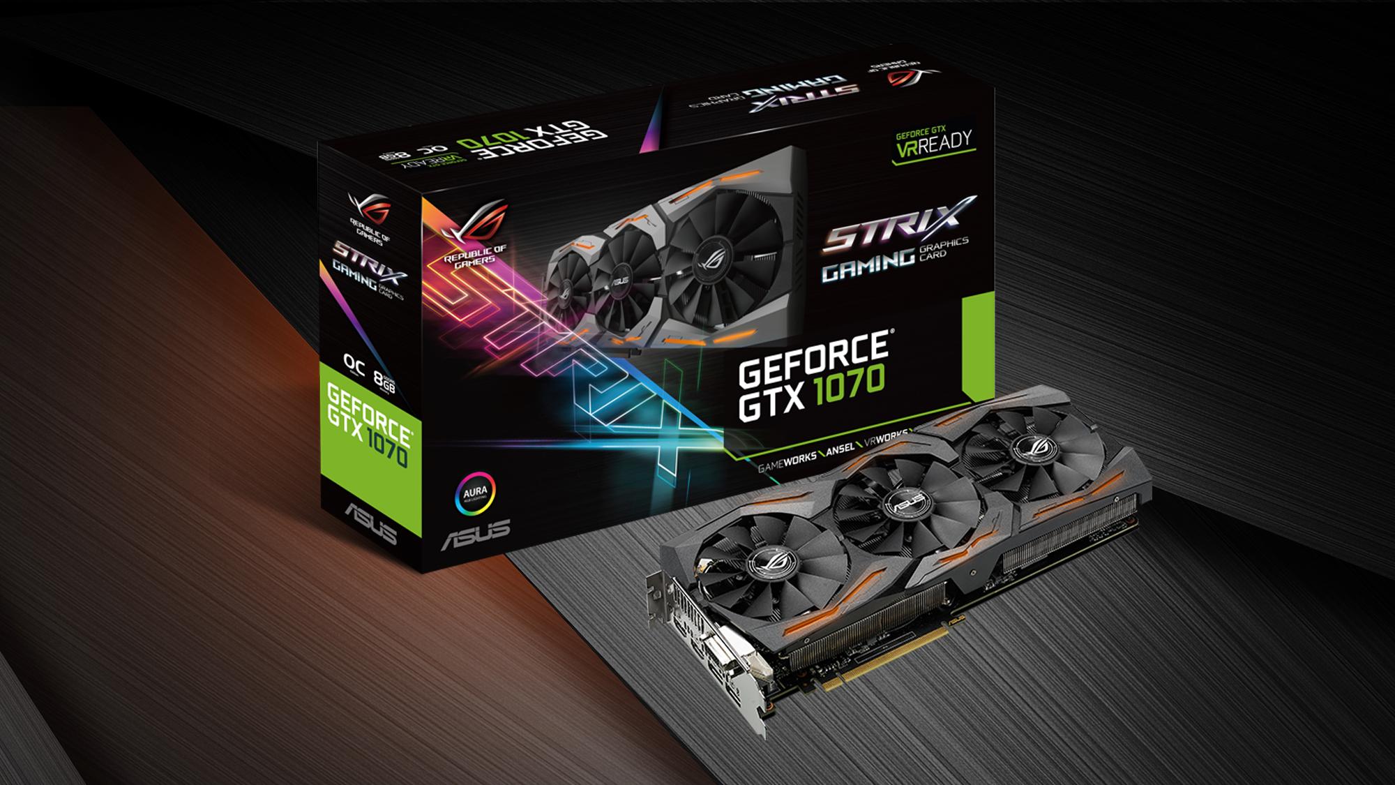 Con ustedes, la ASUS Strix GeForce GTX 1070