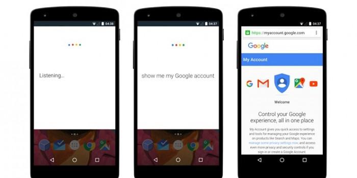 Actualización Mi Cuenta de Google