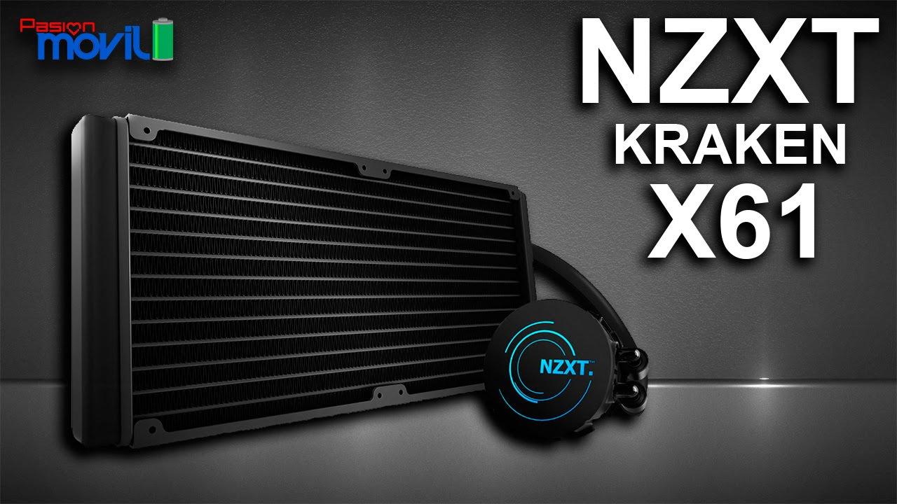 NZXT Kraken X61 ayudará a refrescar tu procesador