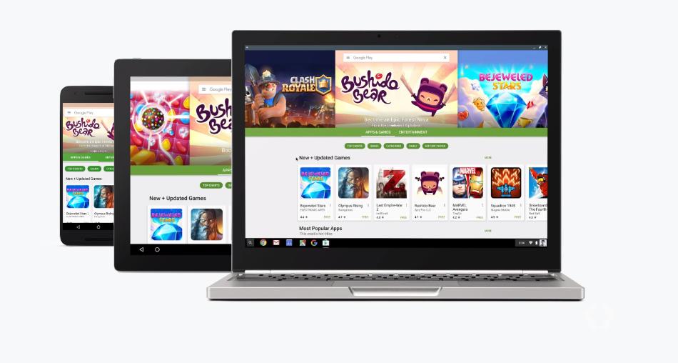 Play Store será una aplicación más de Chrome OS