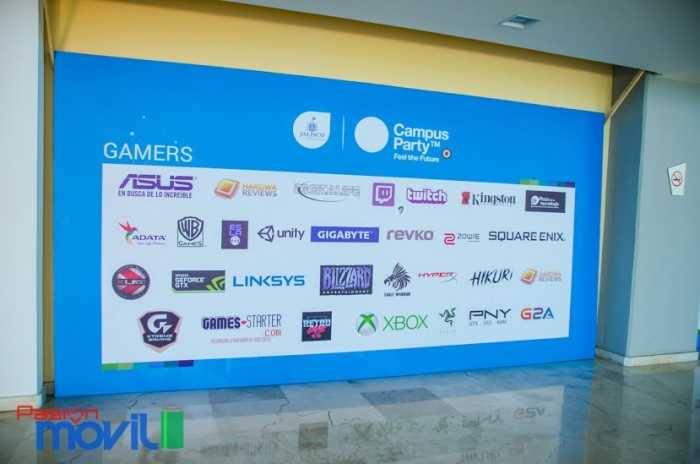 Campus Party 2017 cpmx7 gamers