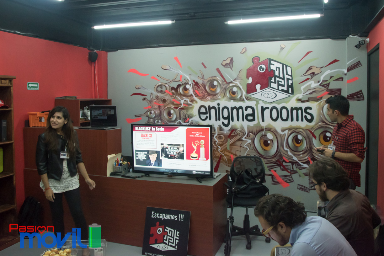 Evento presentación BlackList Conspiracy y Enigma Rooms en México Marca-2
