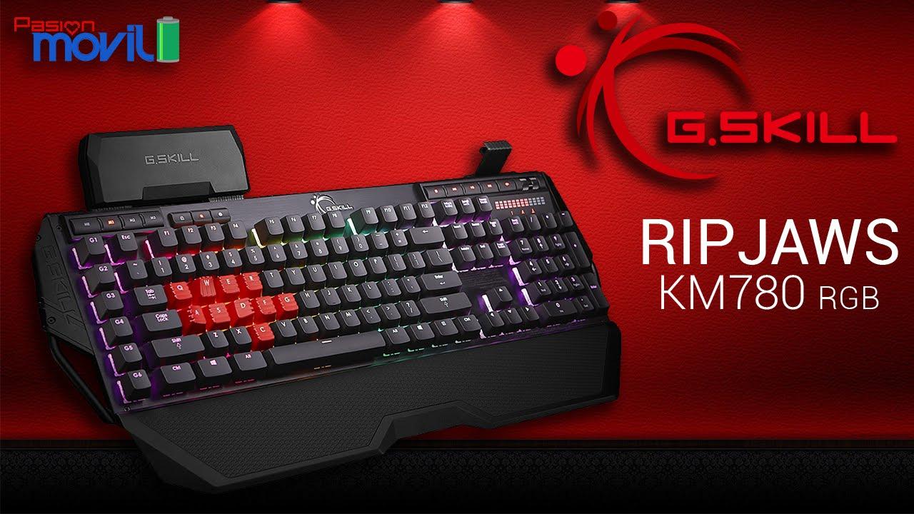 G.Skill Ripjaws KM780 RGB es una interesante alternativa para tu PC