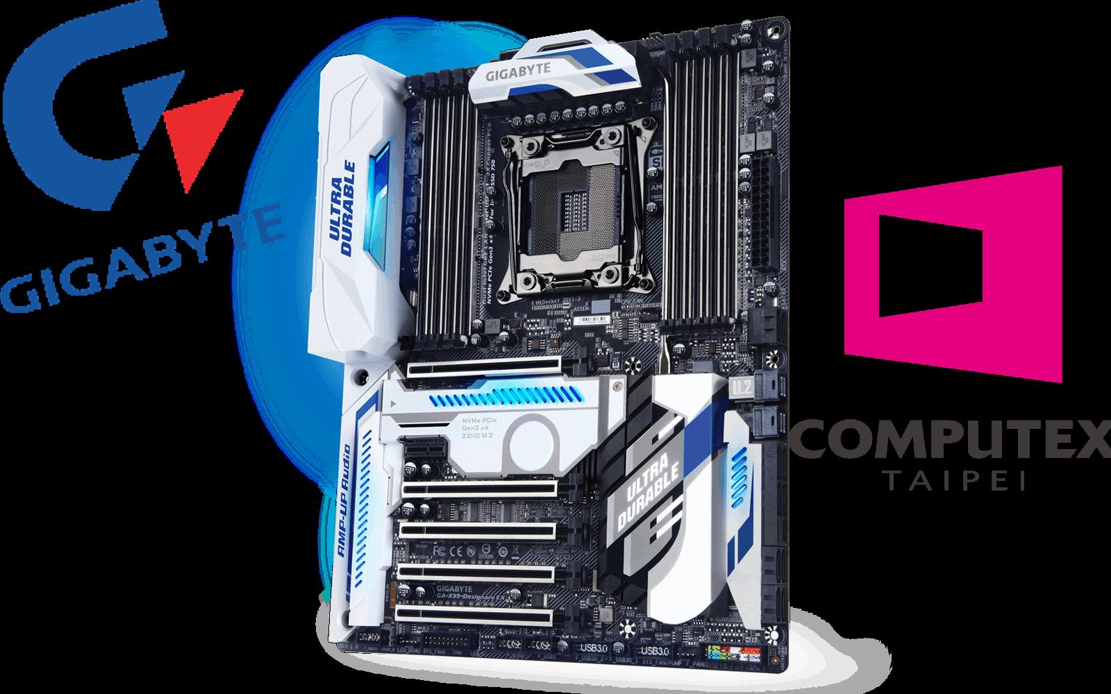 GIGABYTE GA-X99-Designare EX es una potente tarjeta madre