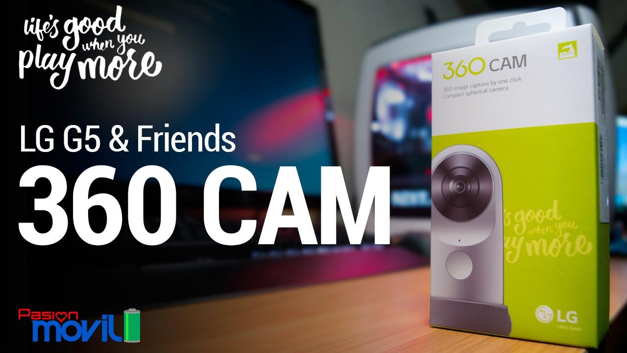Conoce el LG G5 Friends 360 CAM