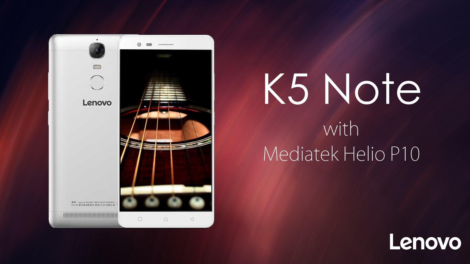 Conoce al Lenovo K5 Note