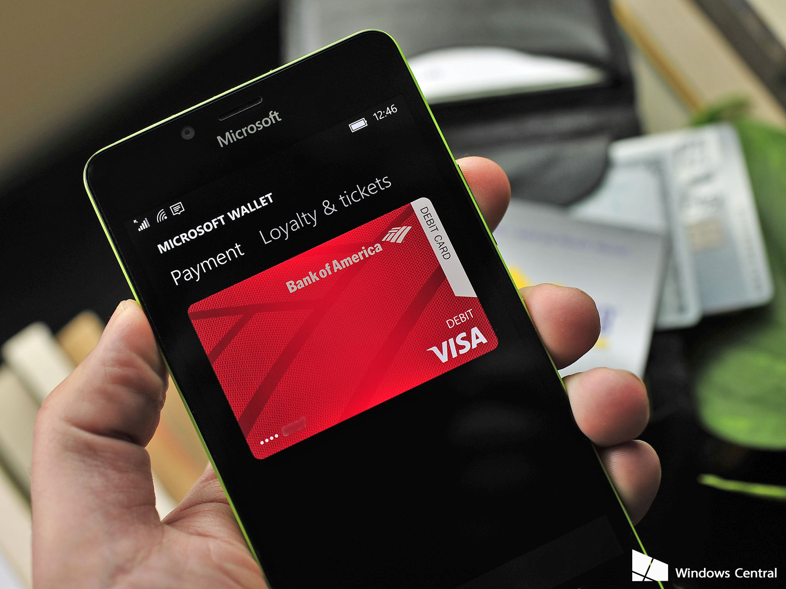 Microsoft Wallet 2.0 es compatible con VISA y MasterCard en Estados Unidos