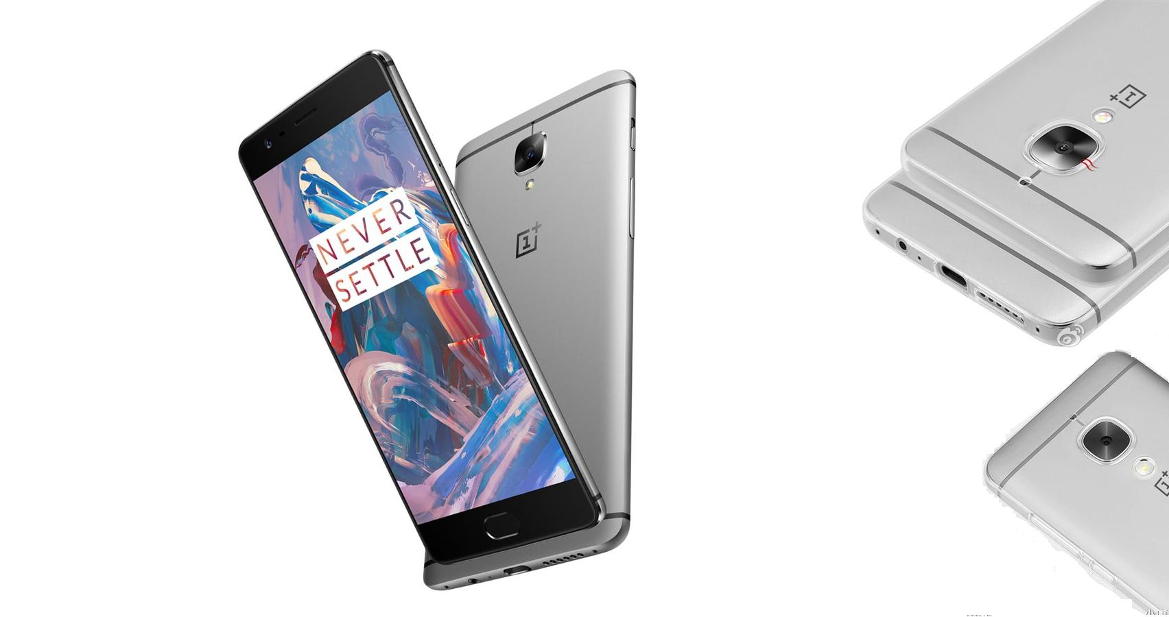 OnePlus 3 sigue las líneas de diseño del HTC One M7-M9
