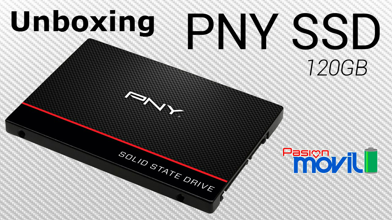 PNY Unboxing SSD PasionMovil