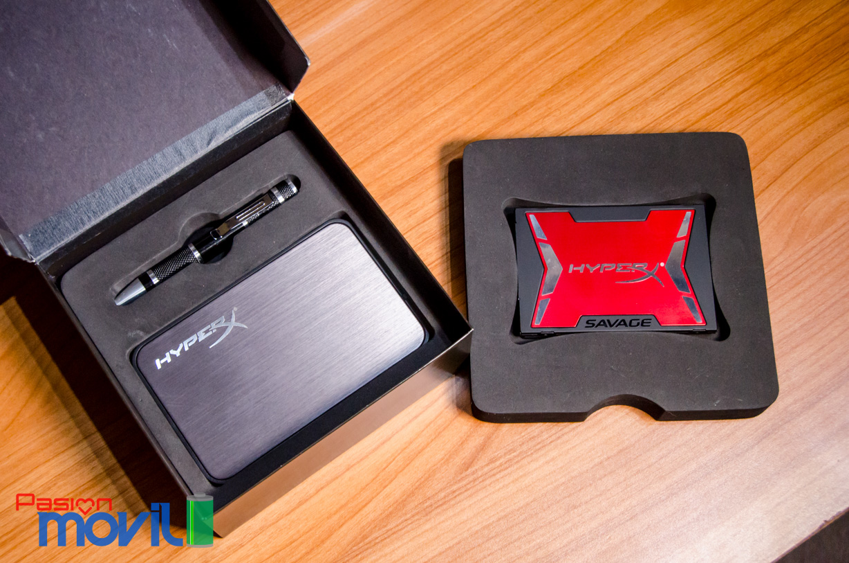 HyperX Savage de 240 GB cuenta con una controladora Phison PS3110-S10