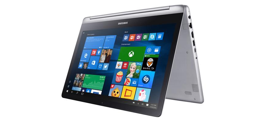 Samsung Notebook 7 Spin gira la pantalla hasta 360°
