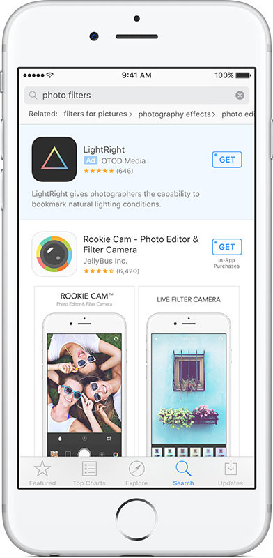 app-store-search-ad