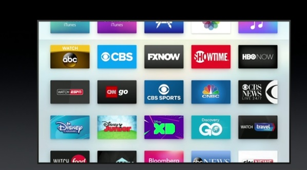 apple tv canales