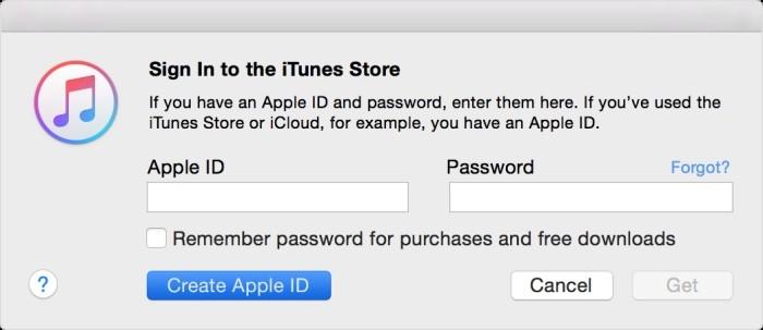 itunes apple id