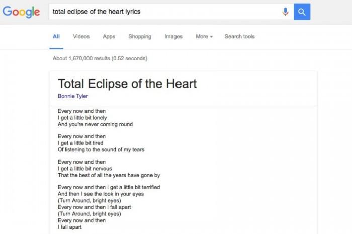 lyrics-google-search