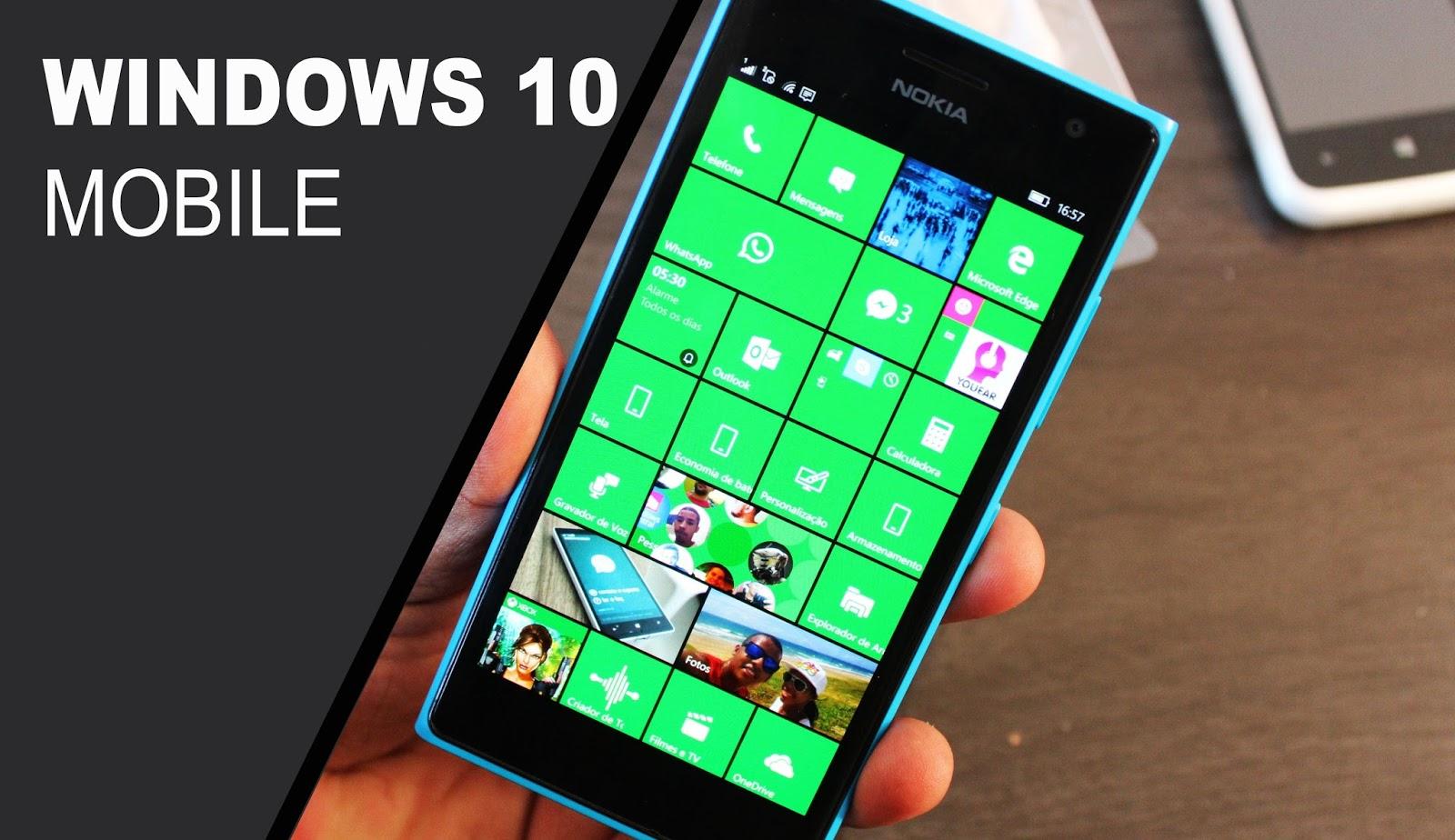 Windows 10 Mobile Redstone disfruta de una build