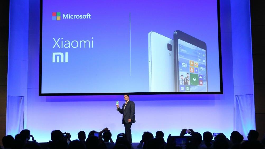 Xiaomi y Microsoft realizan una alianza estratégica
