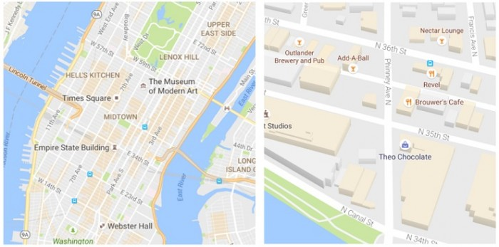 Actualización de Google Maps julio 2016 1