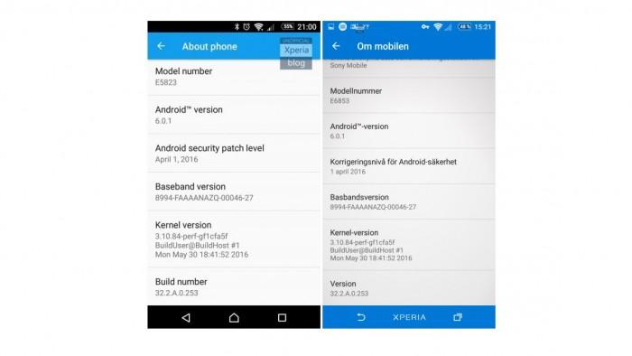 Actualización para Xperia Z5 y Z3 Plus