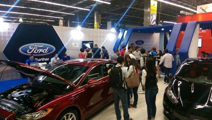 Campus Party Mexico 2016 Ford Sync autos