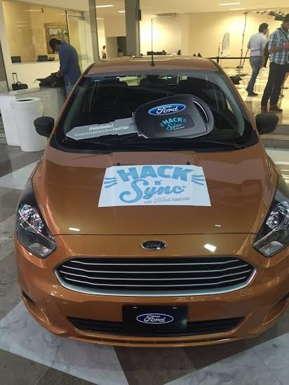 Campus Party Mexico 2016 Ford hack and Sync
