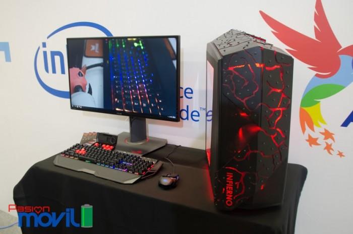 Campus Party Mexico 2016 pc gamer infierno poderpda