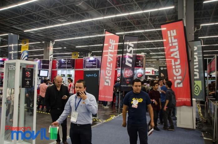 Campus Party mexico 2016 vista general stands cpmx7
