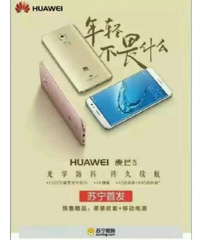 Evento Huawei Maimang 5