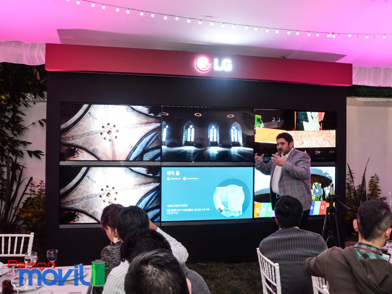 Evento Lg OLED 4k HDR en México Marca