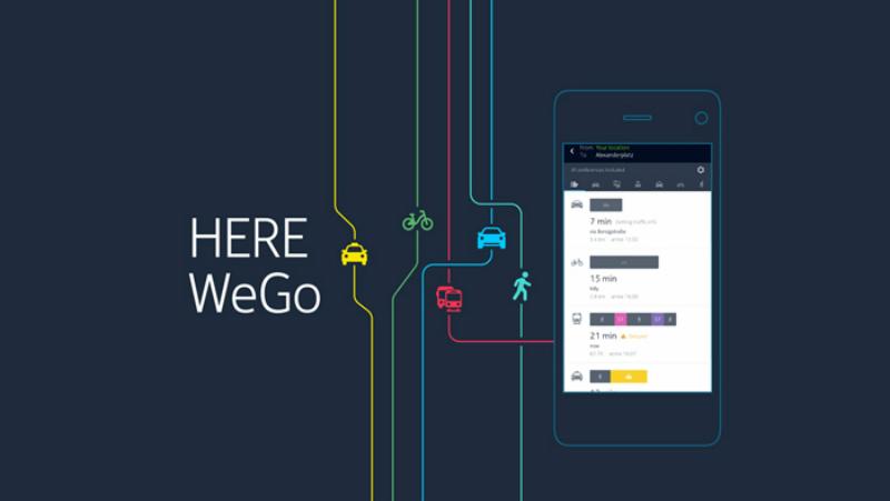 HERE WeGo es una opción bastante interesante