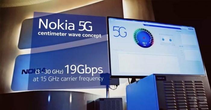 Red 5G de Nokia