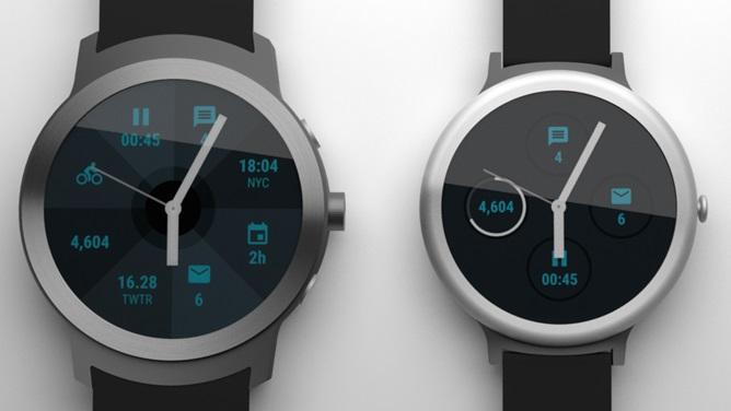 Render de nuevos Android Wear Smartwatches