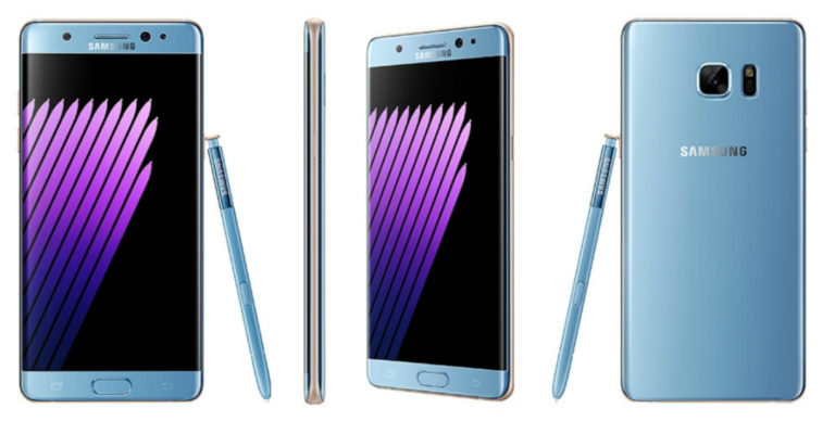 Galaxy Note 7 llegará la otra semana