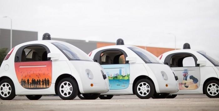 Vehículos autónomos de Google