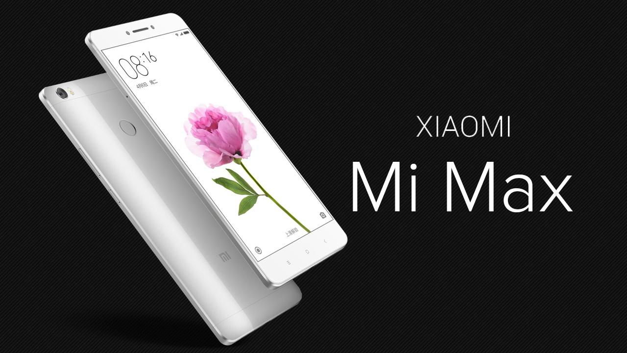 Xiaomi Mi Max ahora está disponible en 4 versiones