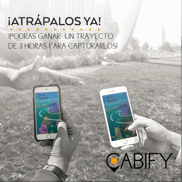 cabify pokemon