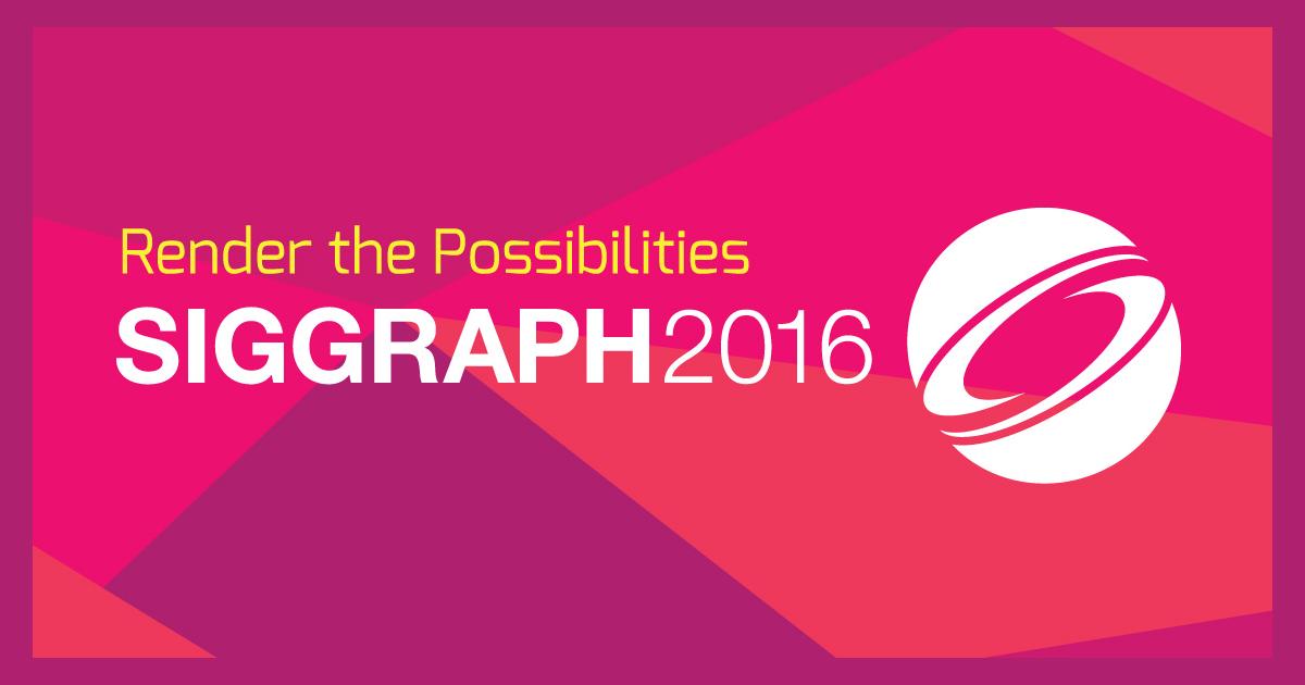 SIGGRAPH 2016 ofrecerá las últimas novedades en gráficos
