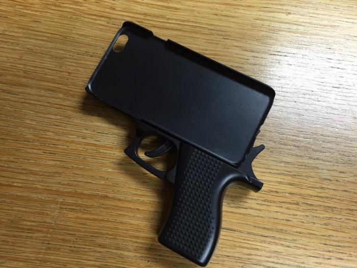 funda iphone pistola