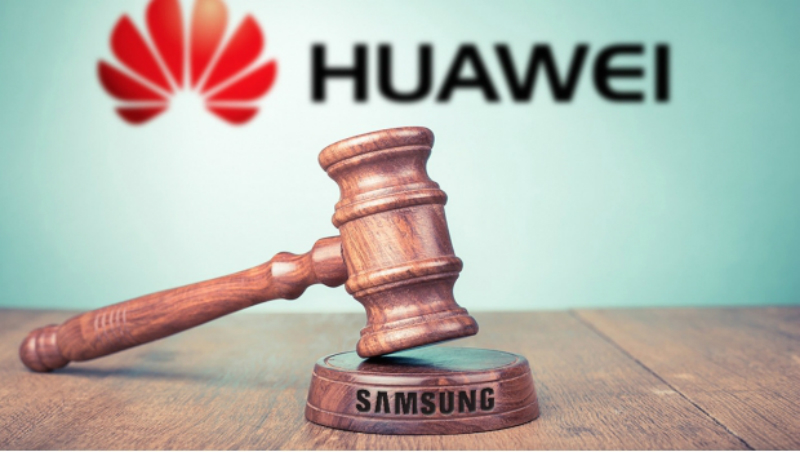 Huawei nuevamente demandó a Samsung