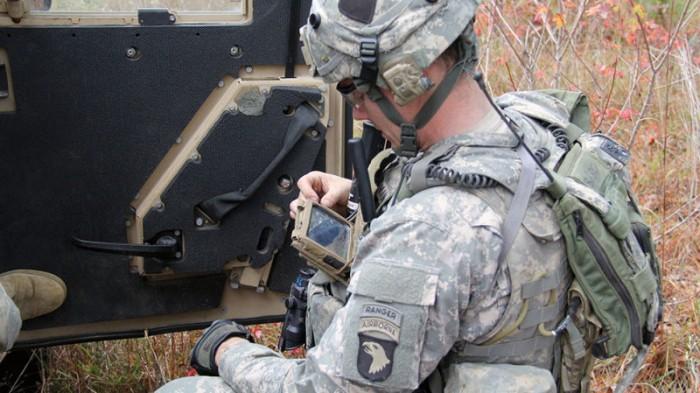 soldado smartphone