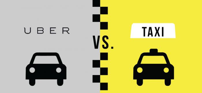ubers vs taxi