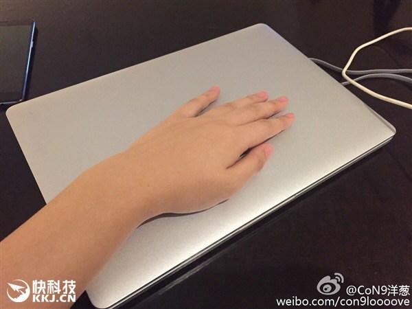 xiaomi mi notebook back frente