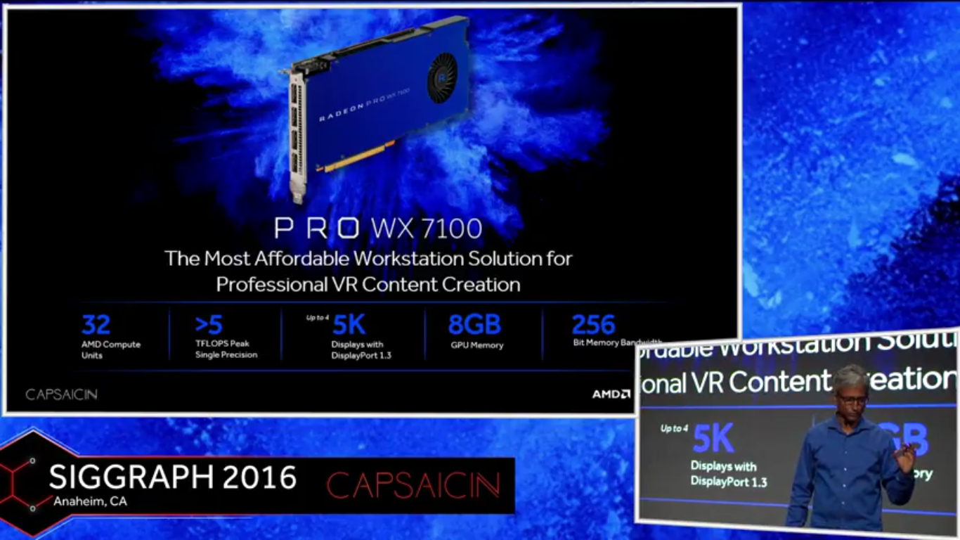 AMD anuncio una nueva generación de tarjetas gráficas para el mercado profesional