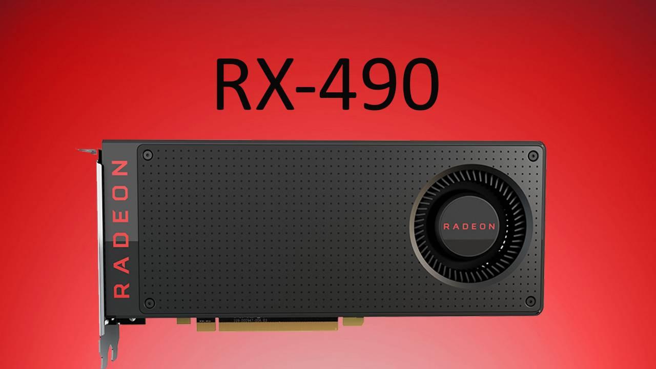 El lanzamiento de la AMD Radeon RX 490 sería inminente