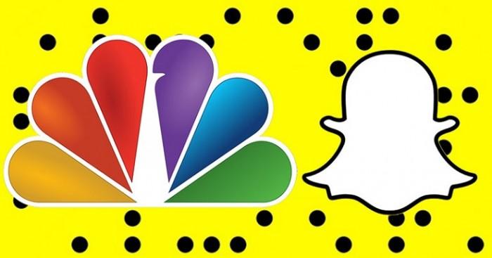 Alianza Snapchat y NBC