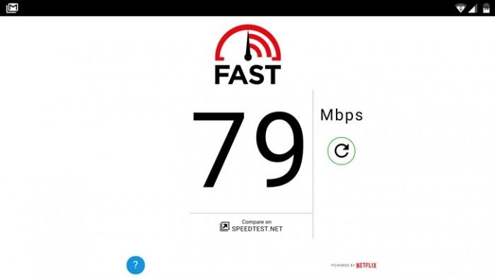 Fast Speed Test de Netflix