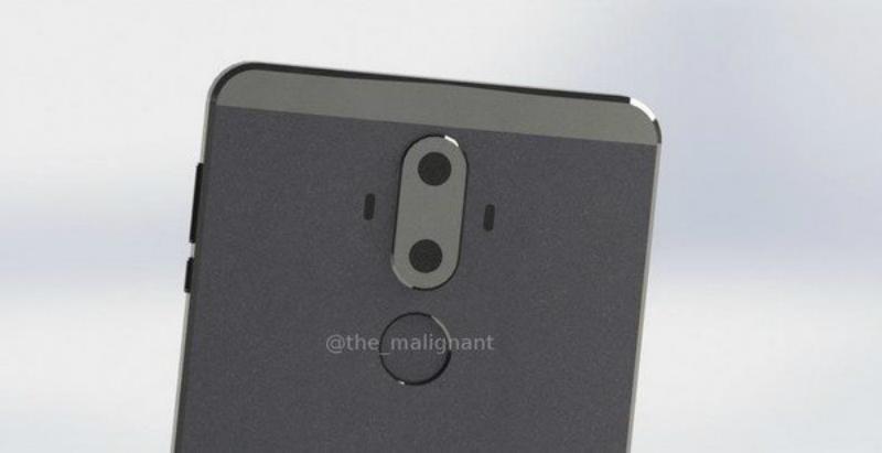 Huawei Mate 9 luce un diseño bastante elegante y algo extraño