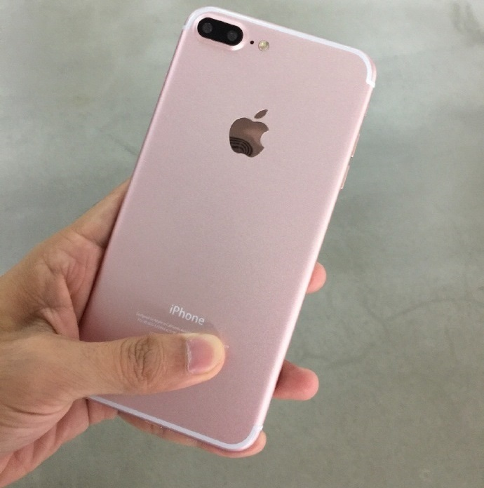 Así lucirá el iPhone 7 Plus Rose Gold