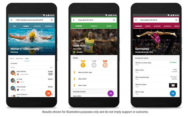 Juegos Olímpicos Río 21016 Google