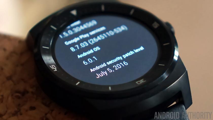 Android Wear sigue siendo un software seguro